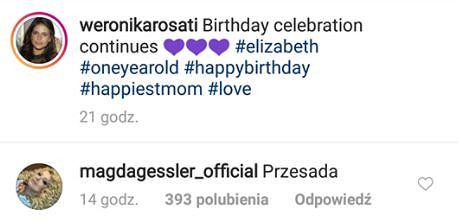 Magda Gessler skrytykowała Weronikę Rosati