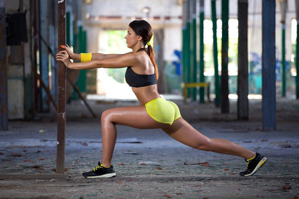 Trening na smukłe nogi