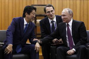Władimir Putin chce ułożyć gazociąg z Rosji do Japonii