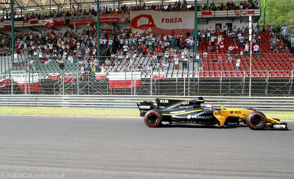 Testy Formuły 1 na węgierskim Hungaroringu