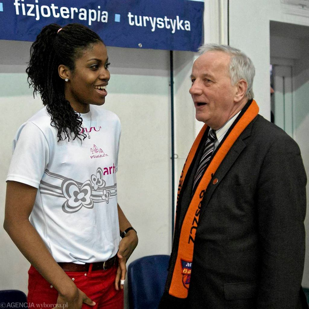 Charity Szczechowiak i Jan Rulewski