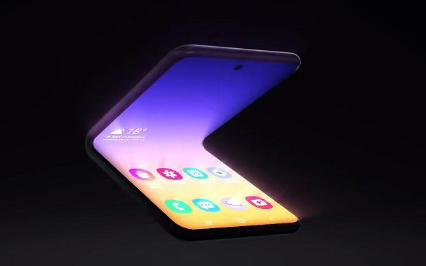 Koncepcyjny projekt Samsunga Galxy Fold
