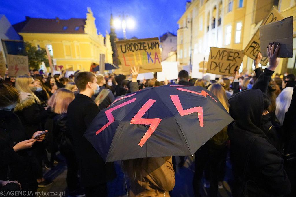 Strajk kobiet w Bydgoszczy