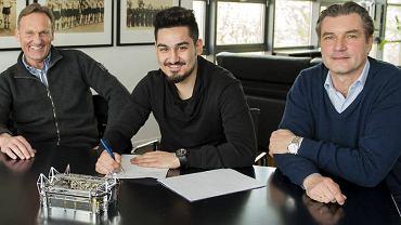 Ilkay Gundogan podpisuje kontrakt z Borussią