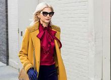 Kolorowe płaszcze zimowe - pogodna alternatywa zimowych szarości