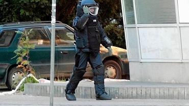 Akcja saperów przy ul. Pocztowej. Policja zamknęła główną drogę w centrum Gorzowa