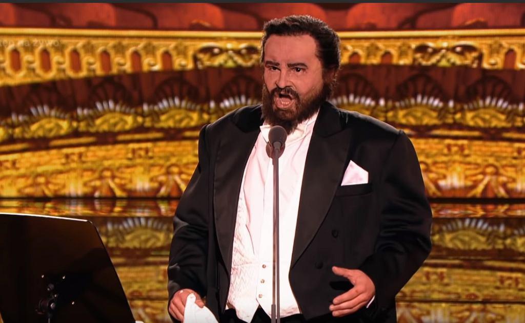 Your Face Sounds Familiar - Łukasz Zagrobelny as Luciano Pavarotti - Twoja Twarz Brzmi Znajomo
