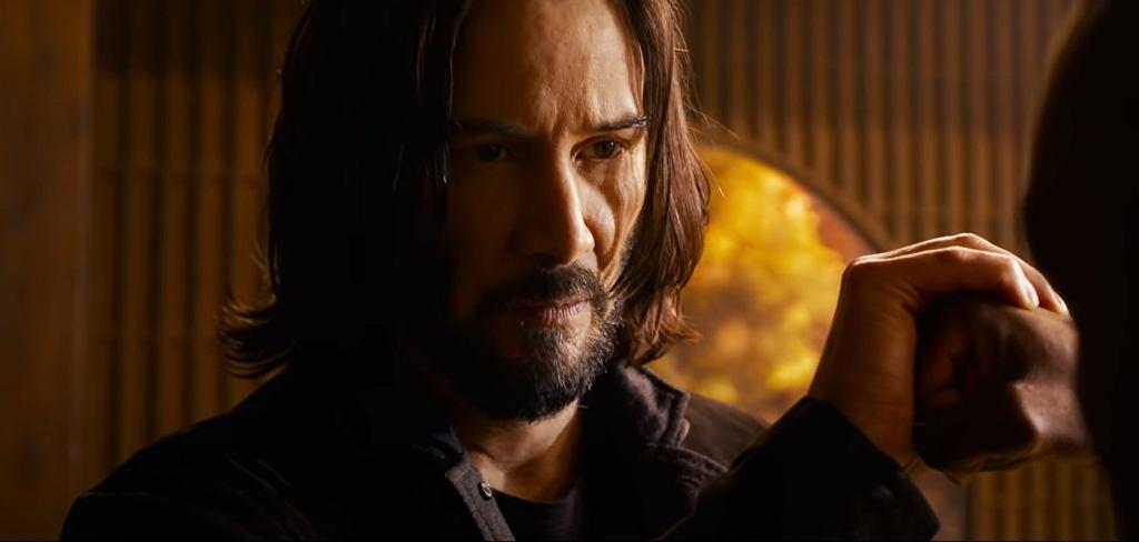 Keanu Reeves w zwiastunie 4. części serii 'Matrix' - 'Matrix Zmartwychwstania'