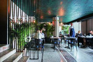 Wystrój wnętrz restauracji Palmier