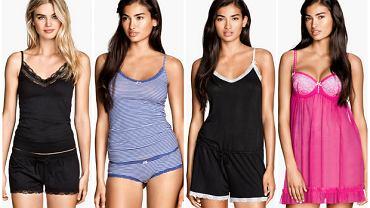 a31f4b3ad70a48 Zmysłowe piżamy i koszule nocne - seksowne czarno-białe propozycje