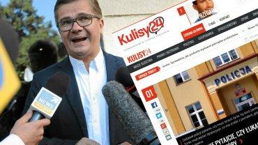 Sylwester Latkowski, redaktor naczelny portalu Kulisy24.pl