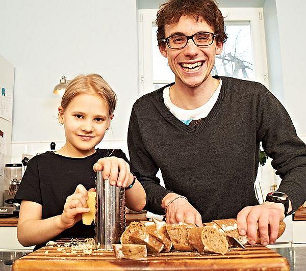 Tomek Woźniak 8 listopada Dzień Zdrowego Śniadania