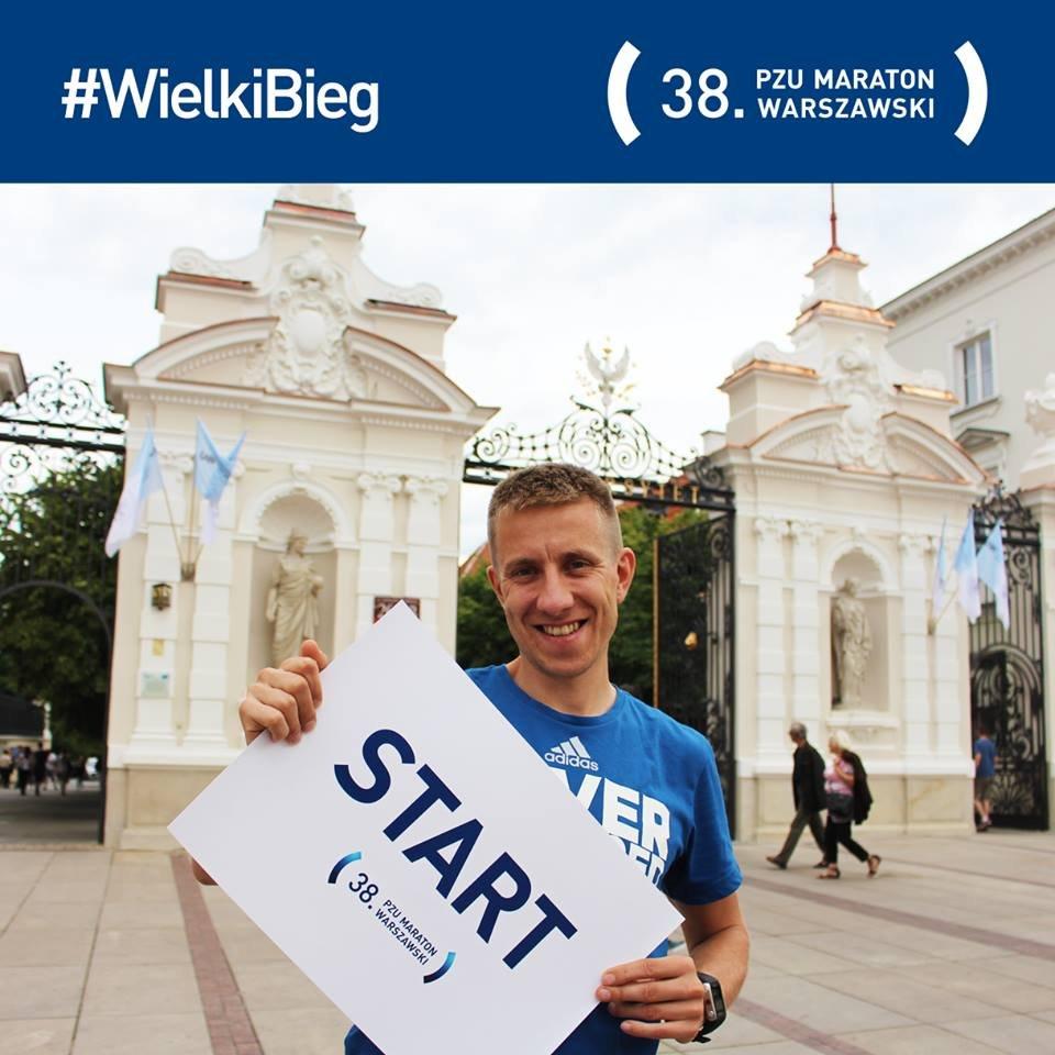 Start 38. PZU Maratonu Warszawskiego