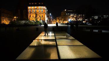 Protest samorządowców. W wielu miastach 1 grudnia zgasły światłą, m.in. na pl. Wolności we Wrocławiu