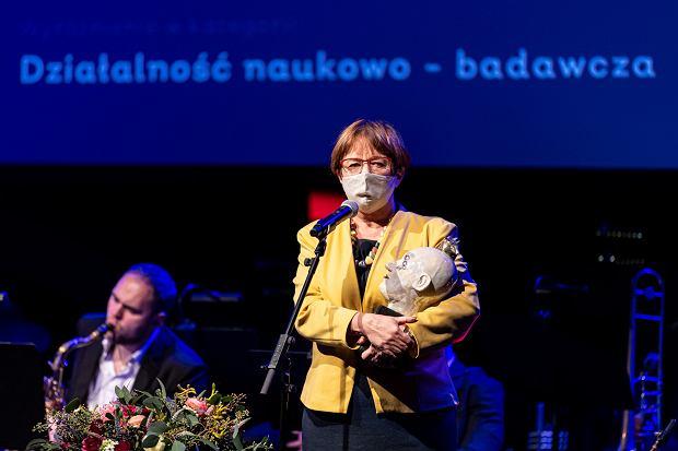 Gala Wrocławianki Roku 2020. Bożena Ryszawska