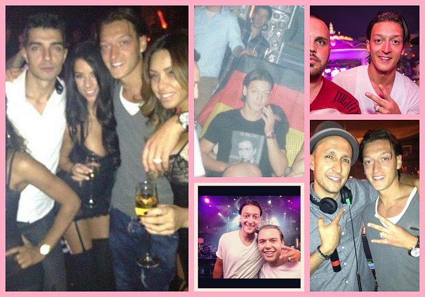 Mesut Ozil na wakacjach