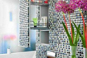 Wnętrza - łazienka: 15 pomysłów na wnękę nad sedesem