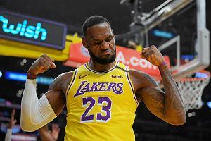 Los Angeles Lakers wygrali dziewiąty mecz z rzędu! LeBron James bohaterem spotkania