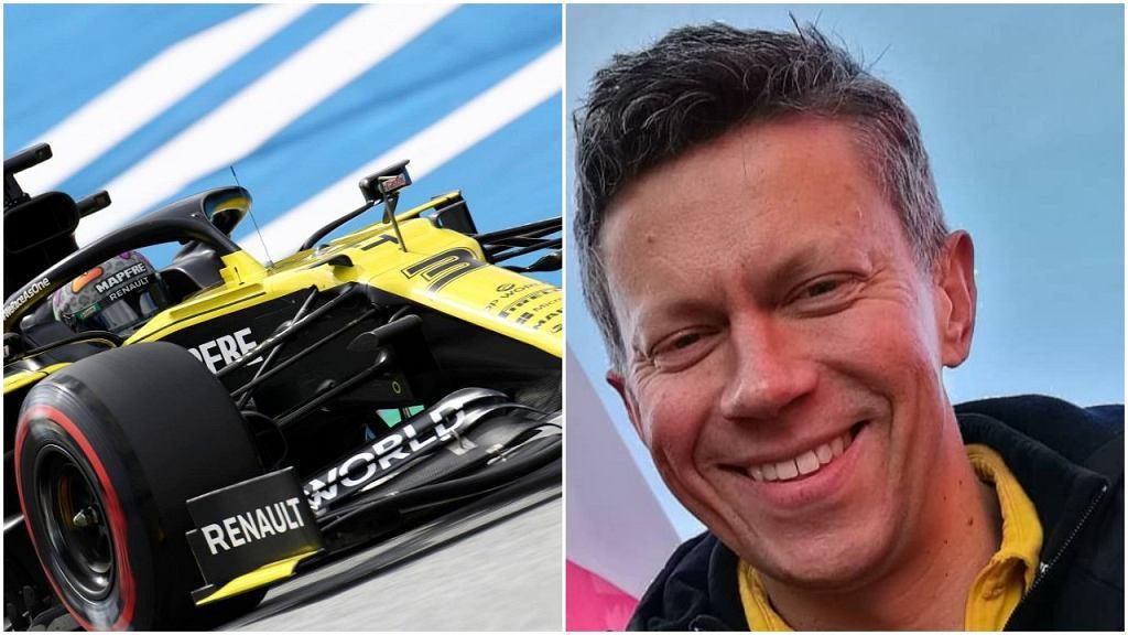 Marcin Budkowski może zostać szefem zespołu Alpine, czyli wcześniejszego Renault