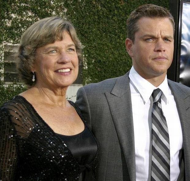 Matt Damon, mama