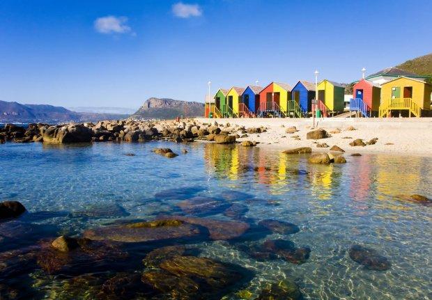 Plaża St. James, Kapsztad, RPA / fot. Shutterstock