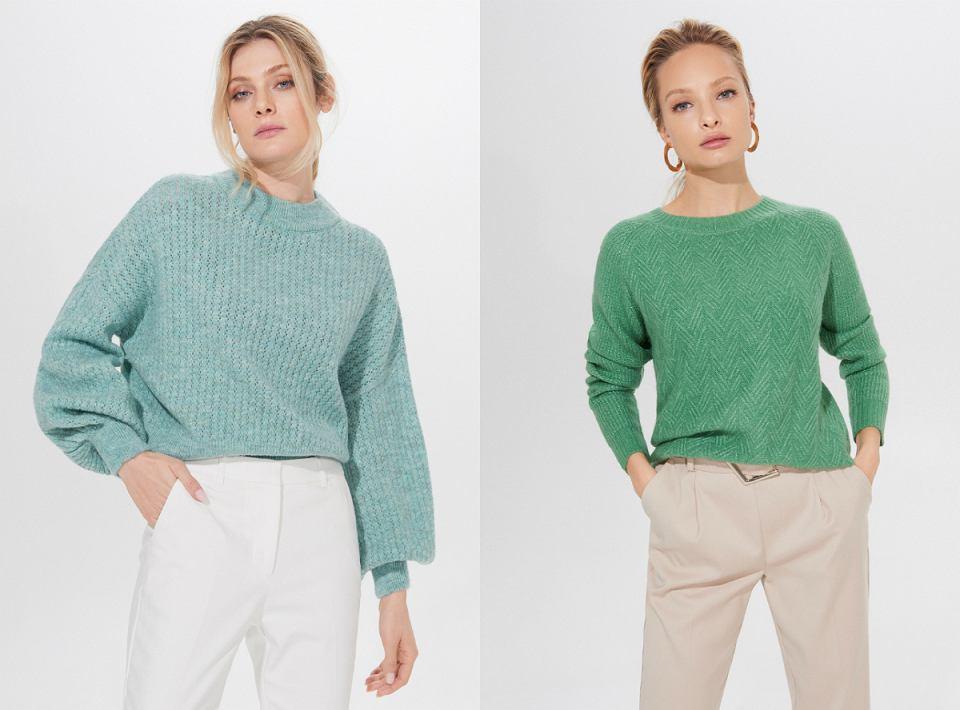 Swetry z nowej kolekcji