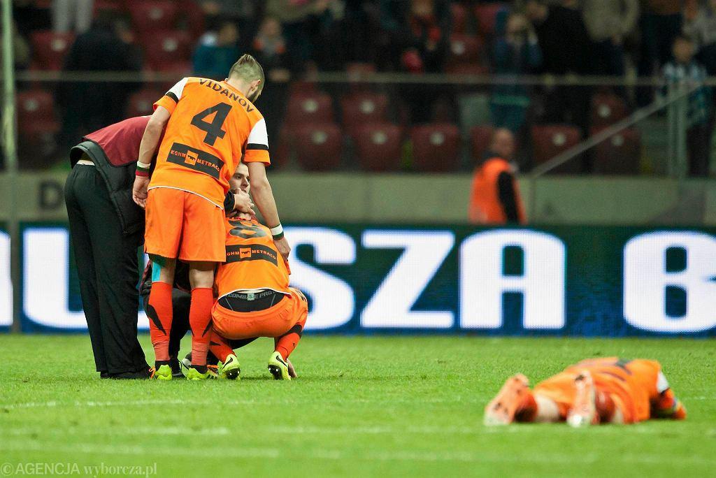 Dla piłkarzy Zagłębia ostatnie dni są fatalne
