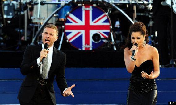 Gary Barlow i Cheryl Cole