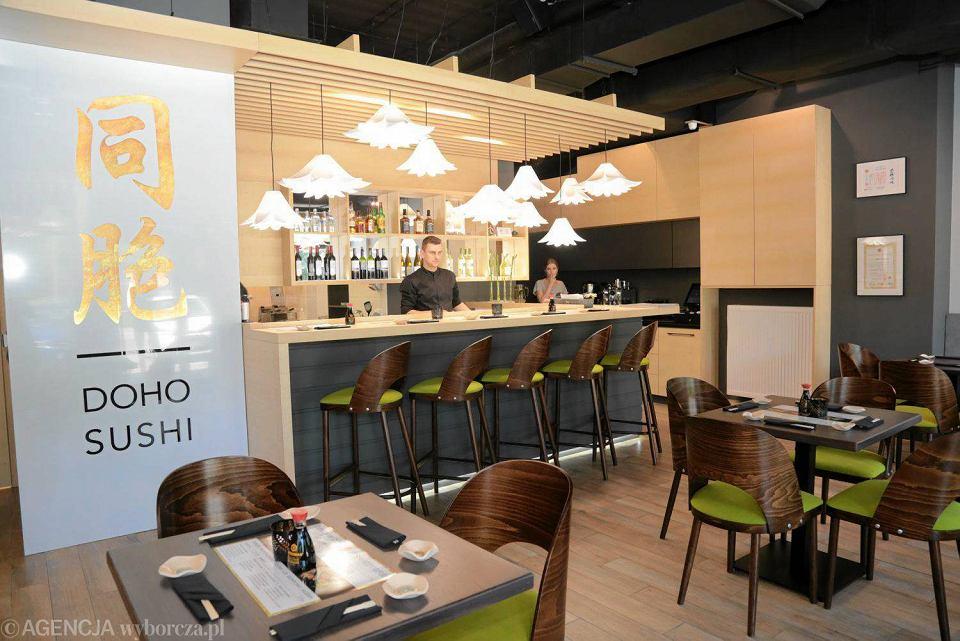 Doho Sushi Nowa Restauracja Z Kuchnią Orientalną Zdjęcia