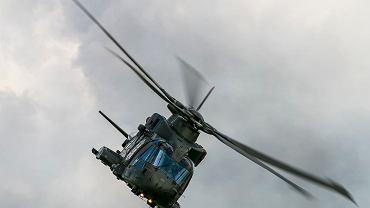 Śmigłowiec AW101 wojska Wielkiej Brytanii