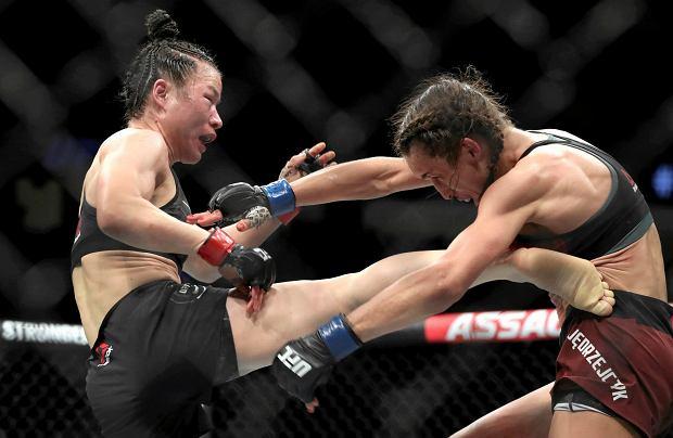 Zawodnik UFC o walce Jędrzejczyk - Zhang: To było k**** niesamowite. Dajcie im po 5 mln dolarów