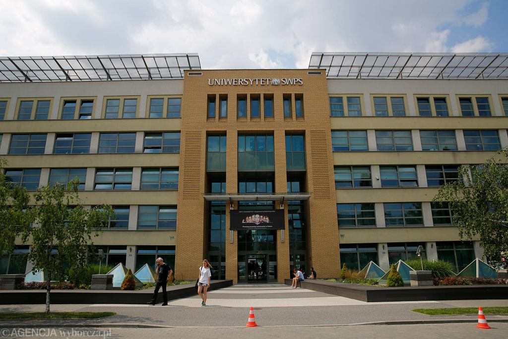 Siedziba Uniwersytetu SWPS w Warszawie
