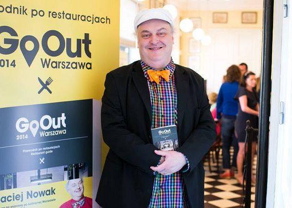 Maciej Nowak, recenzent kulinarny Gazety Wyborczej, juror programu Top Chef