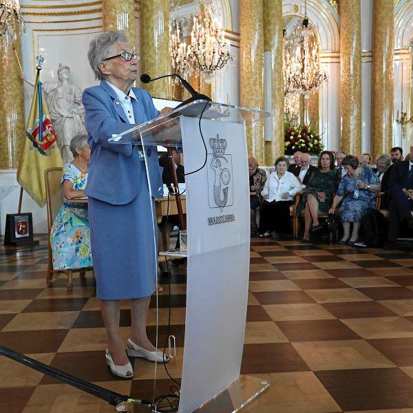 Uroczysta Sesja Rady Miasta Warszawy na Zamku Królewskim z okazji 74. rocznicy wybuchu Powstania Warszawskiego