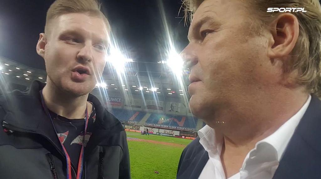 Bogdan Wilk, dyrektor sportowy Piasta Gliwice