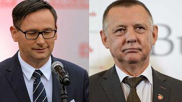 Daniel Obajtek, szef Orlenu i Marian Banaś, prezes NIK