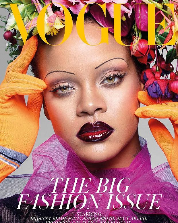 Okładka British Vogue