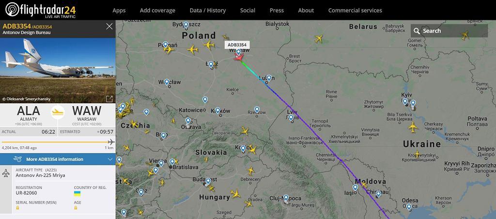 An-225 w Polsce