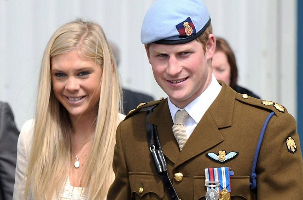 Chelsy Davy, książę Harry w 2010 r.