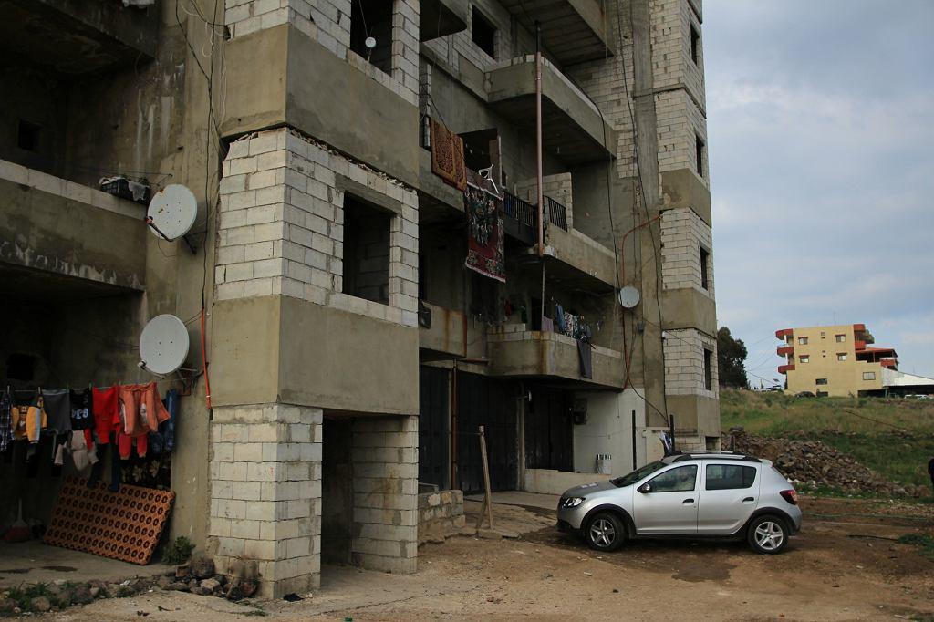 Budynek, w którym mieszkają Rukaia, Zendar i Sibu