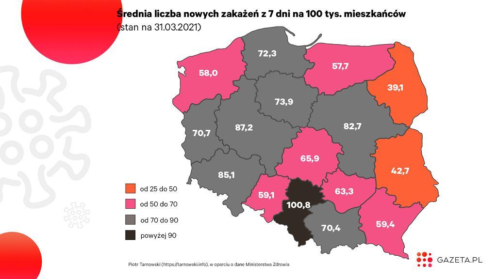 Koronawirus w Polsce. Dramatyczna sytuacja na Śląsku