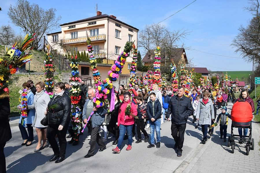 Parada w Niedzielę Palmową