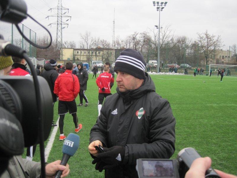 Trener Jacek Magnuszewski