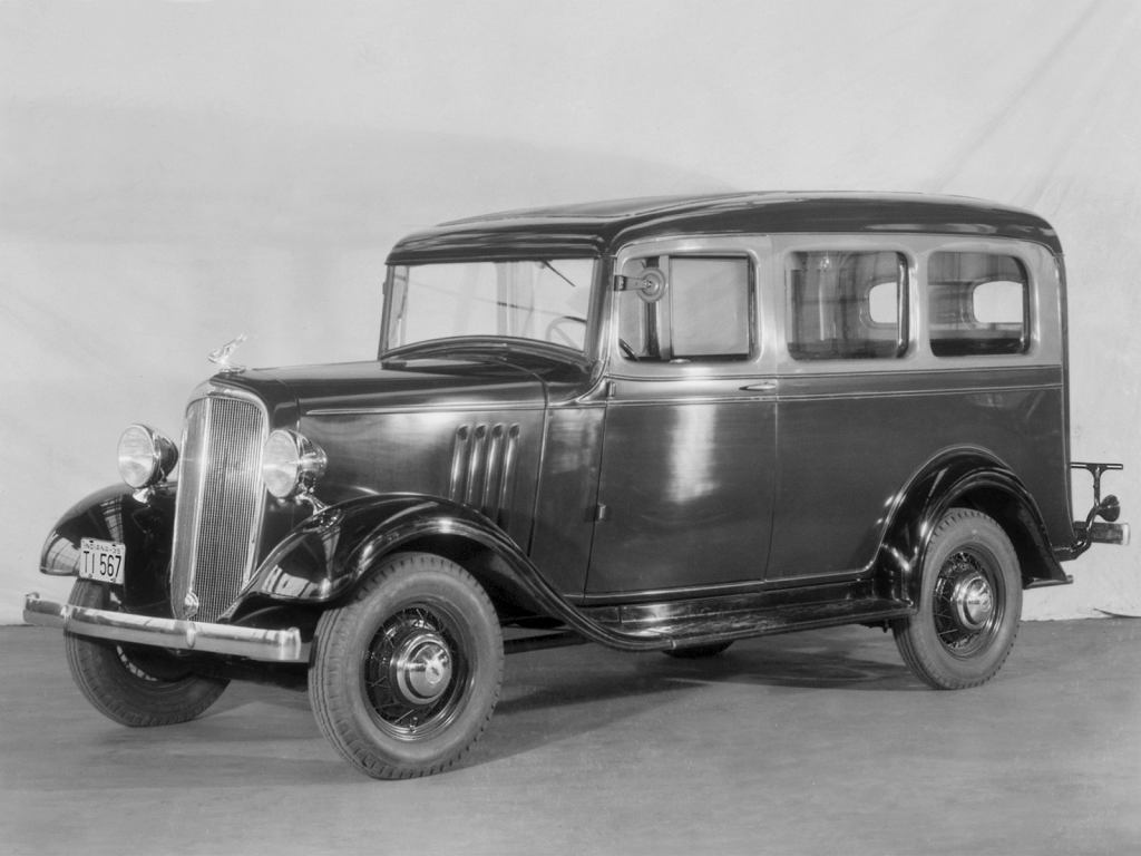 Chevrolet Carryall Suburban