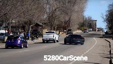 700-konny Challenger Hellcat vs. prawa fizyki i... pick-up [WIDEO]