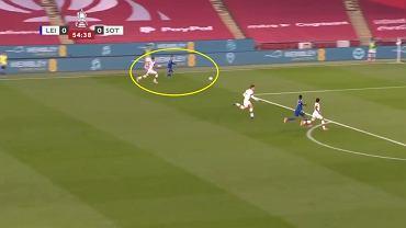 Jamie Vardy uciekł Janowi Bednarkowi w półfinale FA Cup