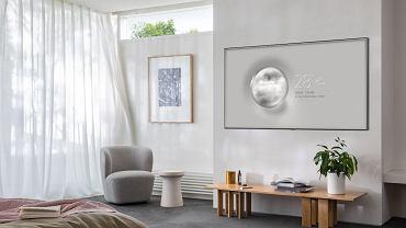 Telewizor Samsung QLED 2020 z trybem Ambient.