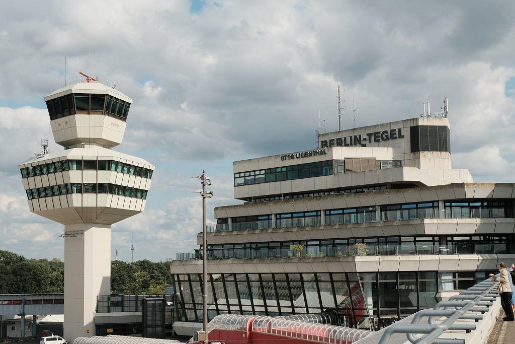 Lotnisko Tegel, Berlin, Niemcy.