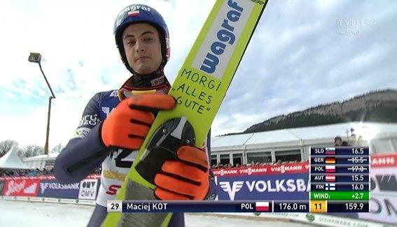 Thomasa Morgensterna pozdrawia Maciej Kot