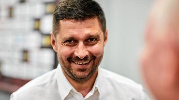 Marcin Kaczmarek, nowy trener Widzewa